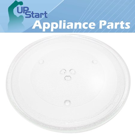 "Microwave Glass Plate Replacement for Panasonic Microwaves - Compatible with Panasonic F06014T00AP, Panasonic NNT695SF, Panasonic NNT664SFX, Panasonic NNT664SF, Panasonic NNSN668W - 13 1/2"" (345mm) - image 2 of 4"