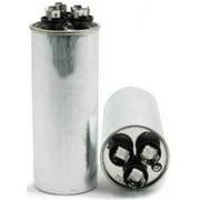 National Brand Alternative 504534 Motor Run Capacitor Round 55-7.5 Mfd 440 Vac