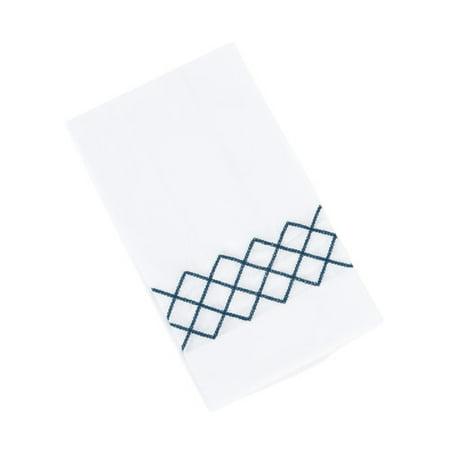 Saro Diamond Guest Hand Towel (Set of 4)