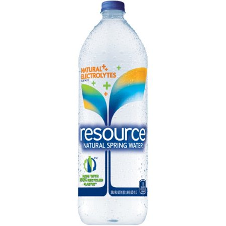 Resource Natural Spring Water  33 8 Fl Oz  12 Count