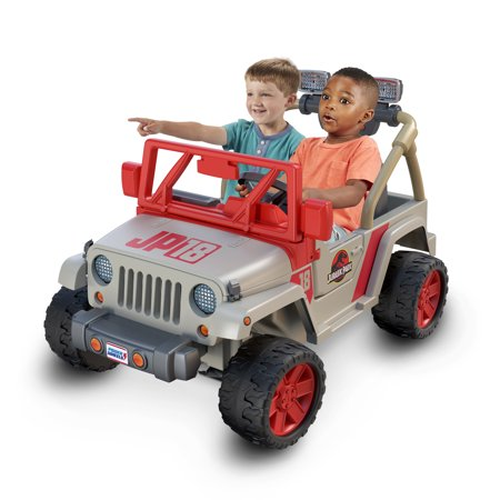 Power Wheels Jurassic Park Jeep Wrangler - Jurassic Park Decorations