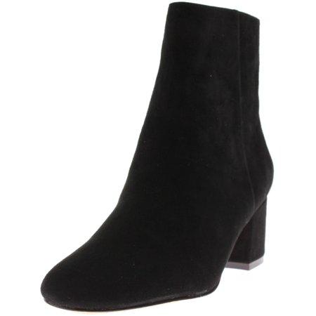 1ccd240c5c85 Bettye Muller - Bettye Muller Womens Candid Suede Booties Ankle Boots Black  6.5 Medium (B