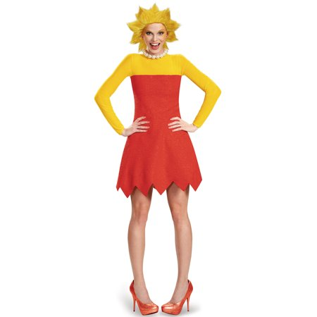 The Simpsons Lisa Deluxe Adult Costume Plus 18-20