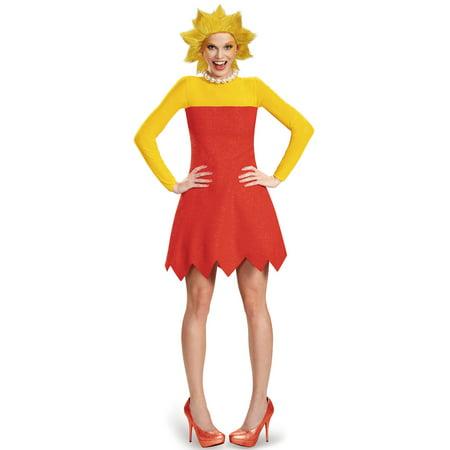 The Simpsons Lisa Deluxe Adult Costume Plus 18-20 - Los Simpson Halloween 13