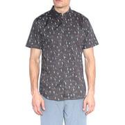 fbf8f807 Molokai - Molokai Mens Banana Print Short Sleeve Button Down ...