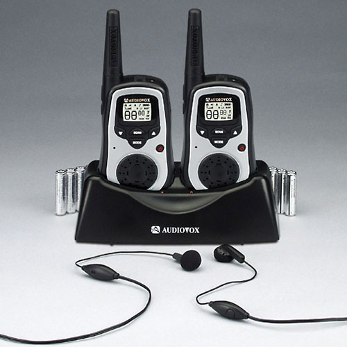 Audiovox GMRS9010 10_Mile 22_Channel FRS_GMRS Two_Way Radio _Pair_ by Audiovox