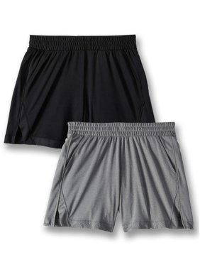 5867d0524 Product Image Active Mesh Shorts, 2-Pack (Little Girls & Big Girls)