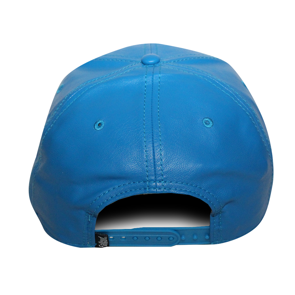 """Bioworld Blue Licensed Fallout """"111"""" PU Leather Snapback Hat - image 4 of 6"""