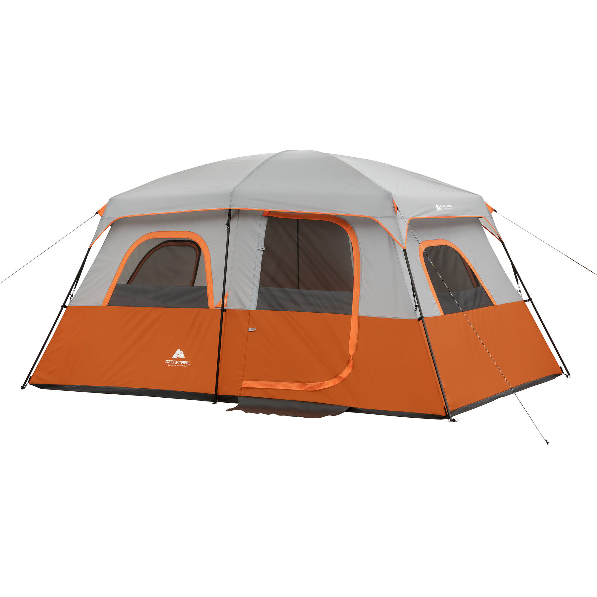 """Ozark Trail 13' x 9' with 76""""H Family Cabin Tent, Sleeps 8"""