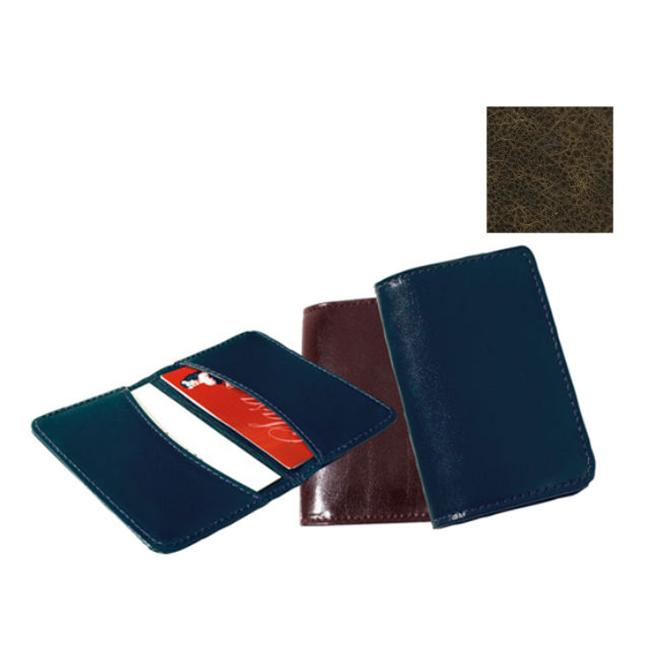 Raika VI 112 BROWN Business Card Holder - Brown
