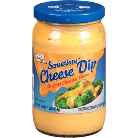 (2 Pack) Great Value Cheese Dip, Cheddar Flavor, 16 - Halloween Cheese Dip
