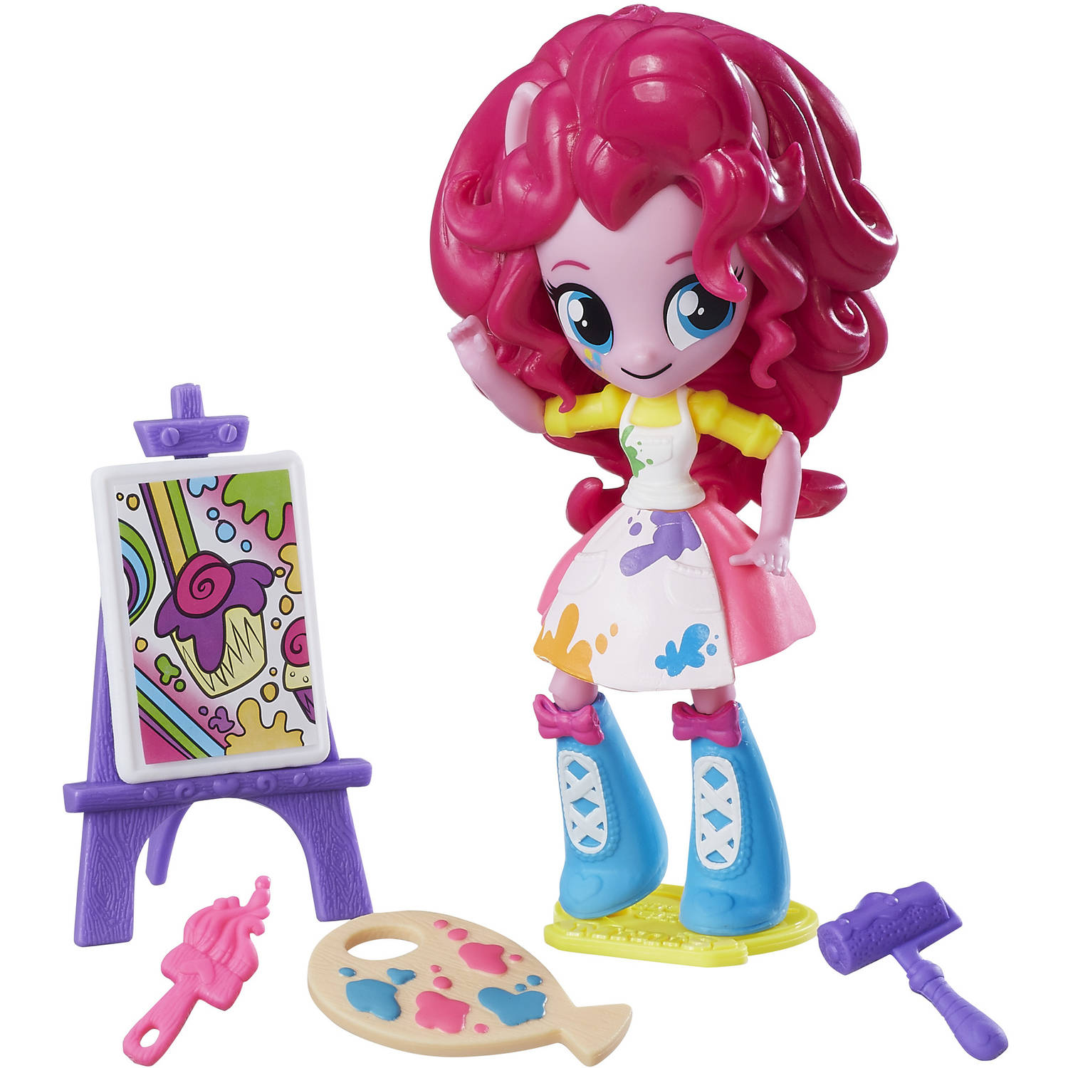 My Little Pony Equestria Girls Minis Pinkie Pie Splashy Art Class Set