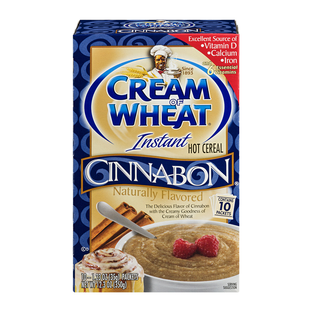 Cream of Wheat Instant Hot Cereal, Cinnabon,1.23 Oz, 10 Ct