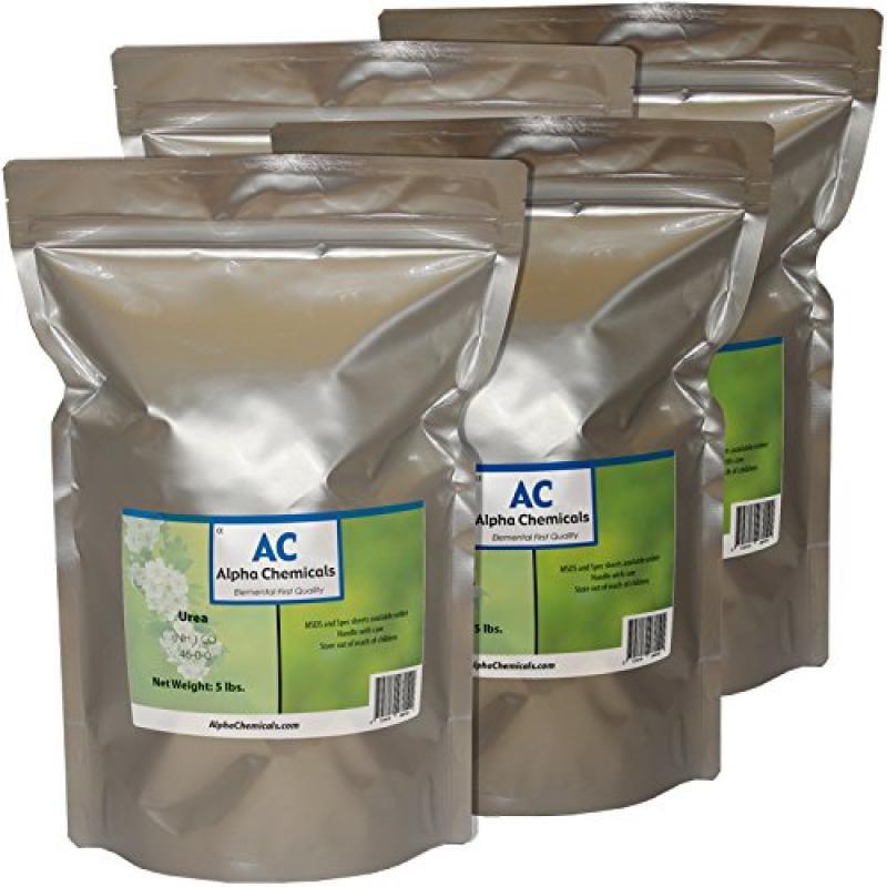 ALPHA Urea - (NH2)2CO - 46-0-0 Fertilizer - 20 Pounds