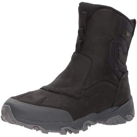 "Merrell Men's COLDPACK ICE+ 8"" Zip Polar WTP Snow Boot, Black, 9.5 M US - image 1 of 1"