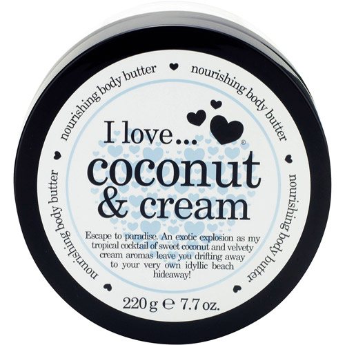 I Love... Coconut & Cream Nourishing Body Butter, 7.7 oz