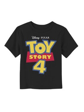 Toy Story Toddler's 4 Classic Logo T-Shirt