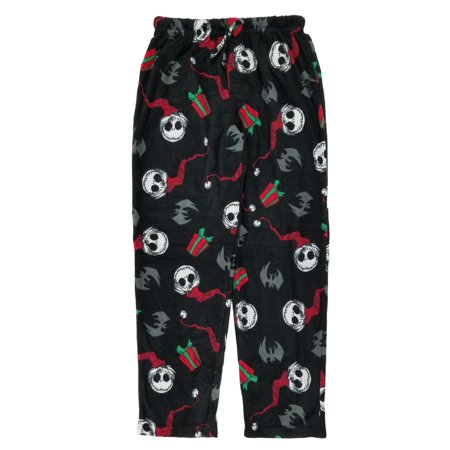 The Nightmare Before Christmas Mens Fleece Sleep Lounge Pants Pajama - Nightmare Before Christmas Clothing