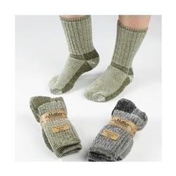 Maggie's Organics - Killington Mountain Hiker Socks,  Black 10-13, 1 pair