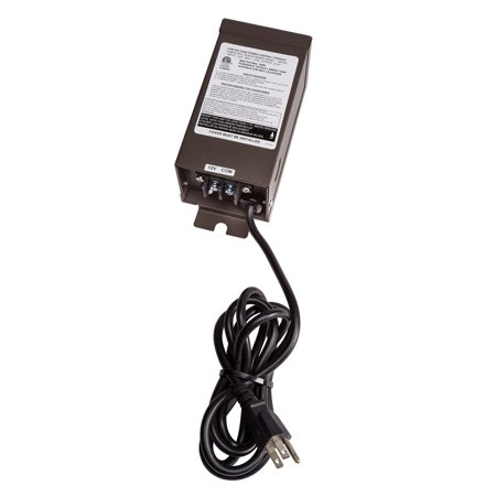 Kichler 15M100 Manual Series 100W Transformer with High-Efficiency E.I. - Bronze Transformer