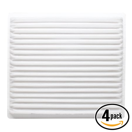 4 Pack Replacement Cabin Air Filter For 2002 Toyota Echo L4 1 5 Car Automotive   Acf 10139