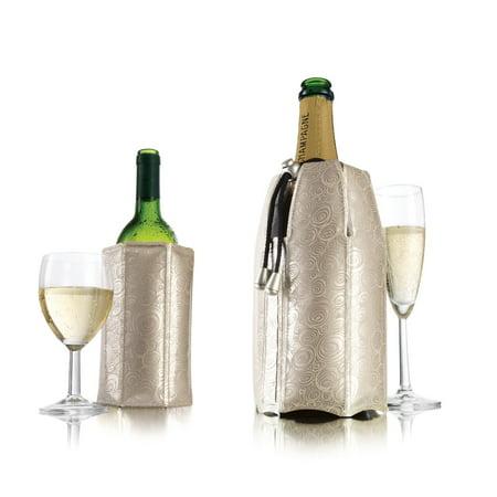 Vacu Vin Active Cooler Wine & Champagne Set, Platinum in Gift Box Vacu Vin Gift