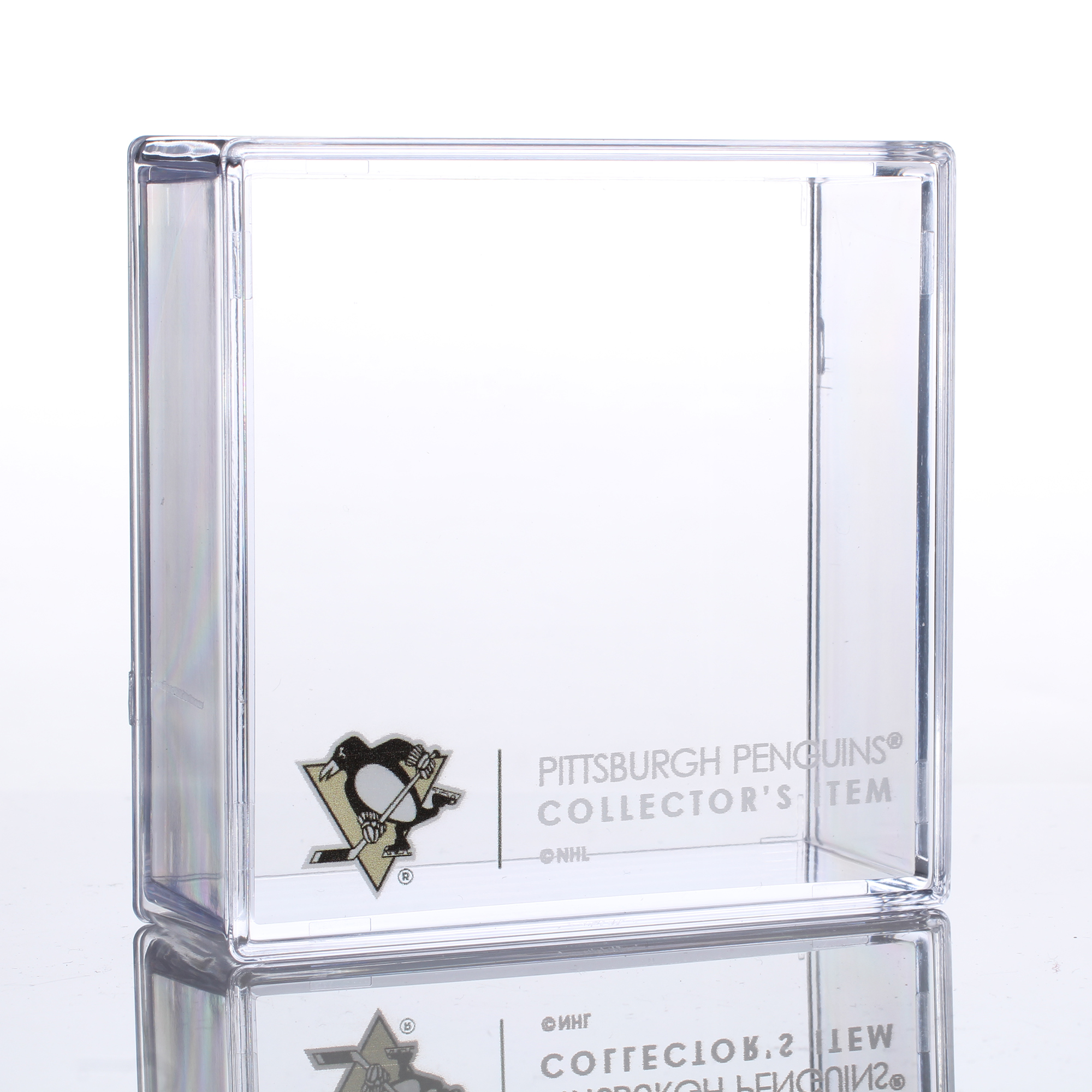 Pittsburgh Penguins Sher-Wood Puck Holder Cube - No Size