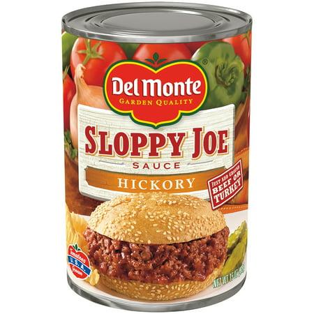 (3 Pack) Del Monte® Hickory Sloppy Joe Sauce 15 oz.