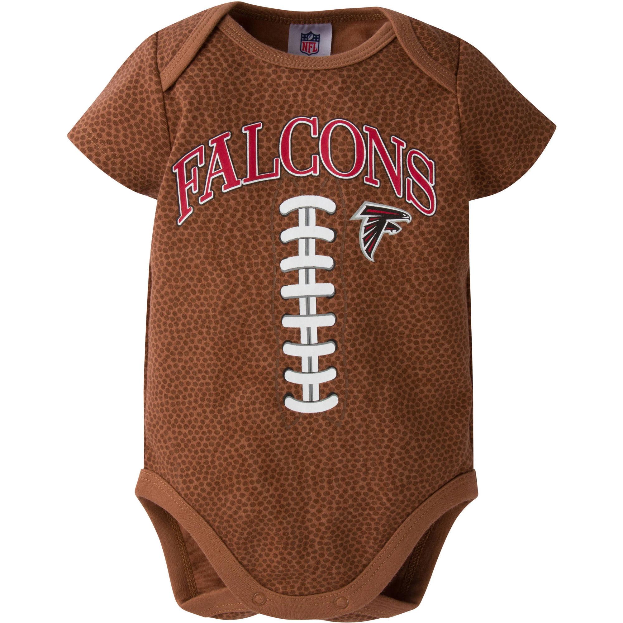 NFL Atlanta Falcons Baby Boys Football Print Bodysuit