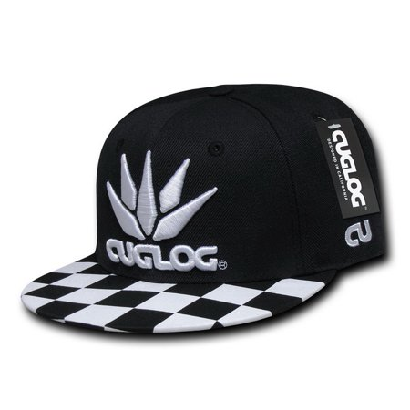 CUGLOG C29 Checker Snapbacks-Black White1 - Walmart.com ffce8ff7d87