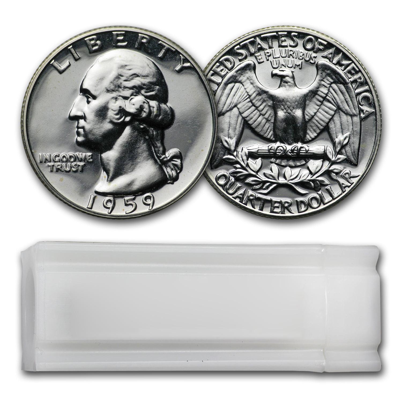 1959 Proof Washington Silver Quarter