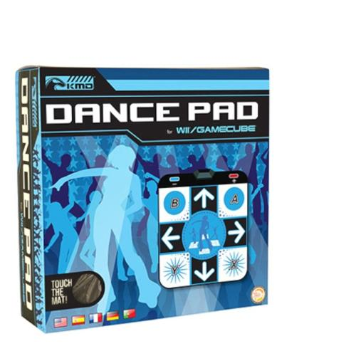 KMD Non Slip Dance Pad For Nintendo Wii And GameCube System