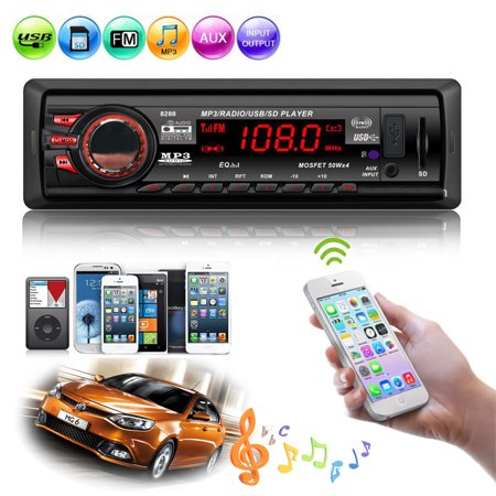 Car In-Dash Stereo Radio Bluetooth MP3 Player Head Unit AUX-IN/USB/SD/FM  iPod