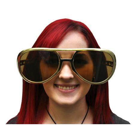 Jumbo Rock and Roll Glasses Halloween Accessory - Best Rock And Roll Halloween Costumes