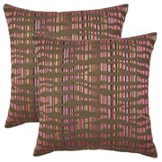 FHT Islands Multi 19-in Throw Pillows (Set of 2)
