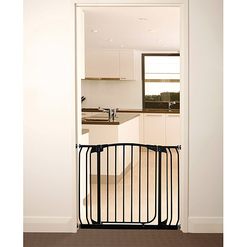 Dreambaby Chelsea Auto Close Security Gate with Extensions, Black