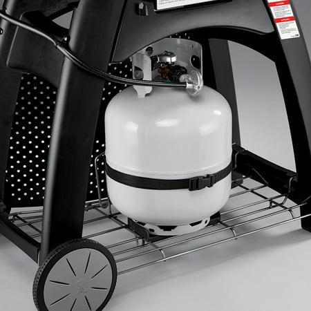 Weber Q 3200 Gas Grill, Titanium