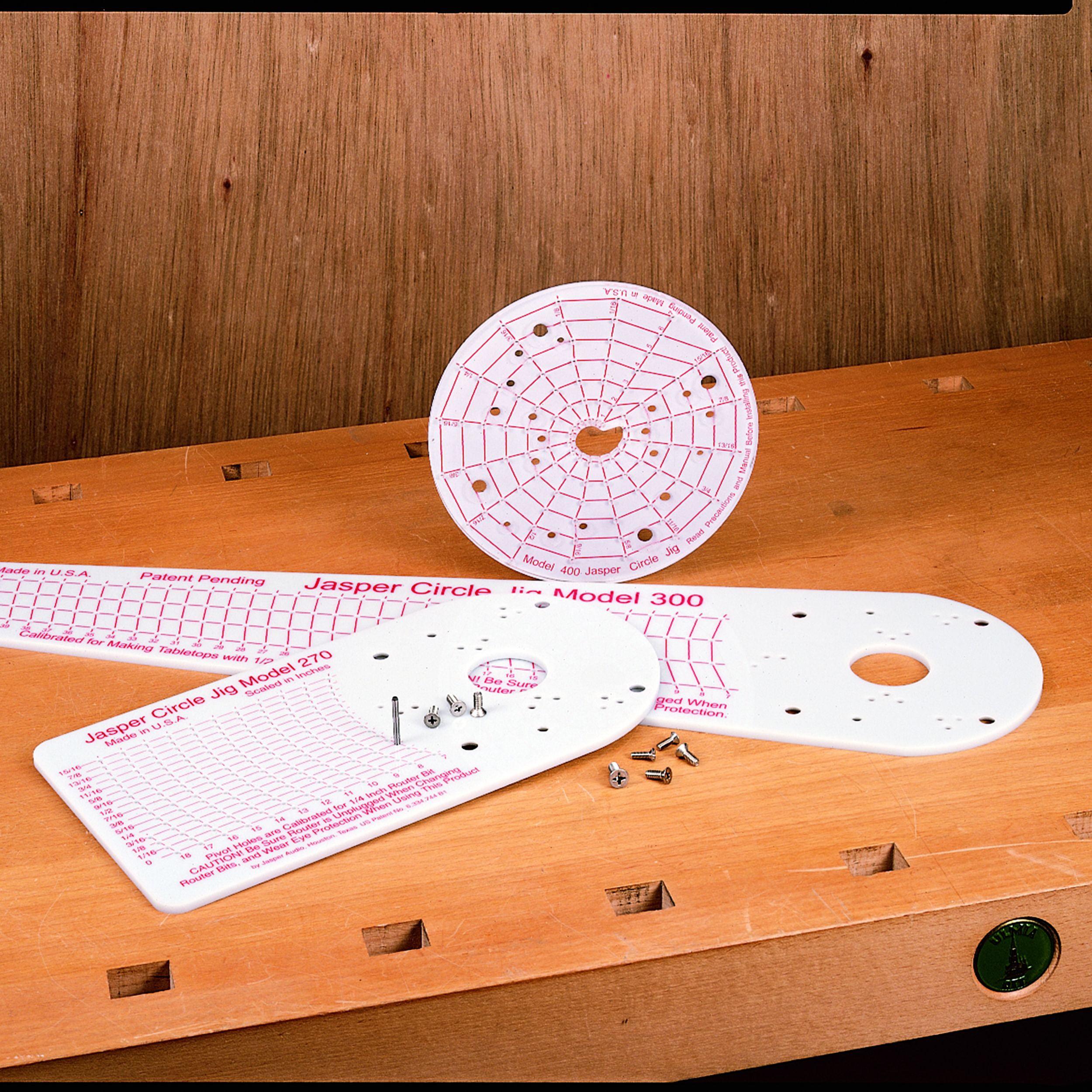 Jasper Tools Jasper 300J Model 300 Router Circle Cutting Jig
