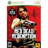 Red Dead Redemption- Xbox 360 (Refurbished)