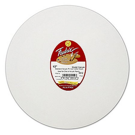 TARA/FREDRIX 5505 ARTIST SERIES ROUND STRETCH CANVAS 5 INCH