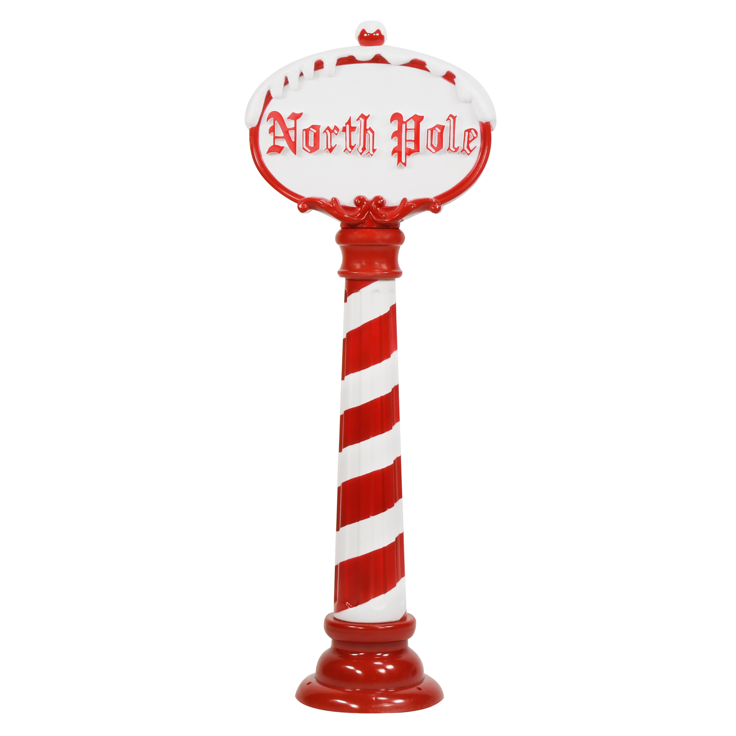 Holiday Time LED North Pole Christmas Sign, 3.5 feet - Walmart.com