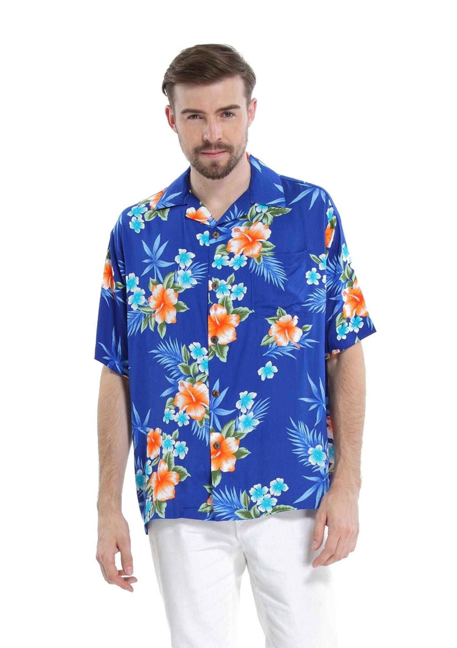 385c8dcc5ad1 Hawaii Hangover - Matching Father Daughter Hawaiian Luau Cruise Outfit  Shirt Dress Hibiscus Black Men 2XL Girl 14 - Walmart.com