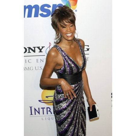 Whitney Houston At Arrivals For Clive Davis Pre-Grammy Party Beverly Hilton Hotel Los Angeles Ca February 09 2008 Photo By Jared MilgrimEverett Collection -