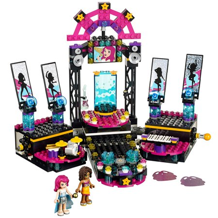 LEGO Friends Pop Star Show Stage with Andrea & Pop Star Livi Building Set 41105 (Lego Friends Tv Show)