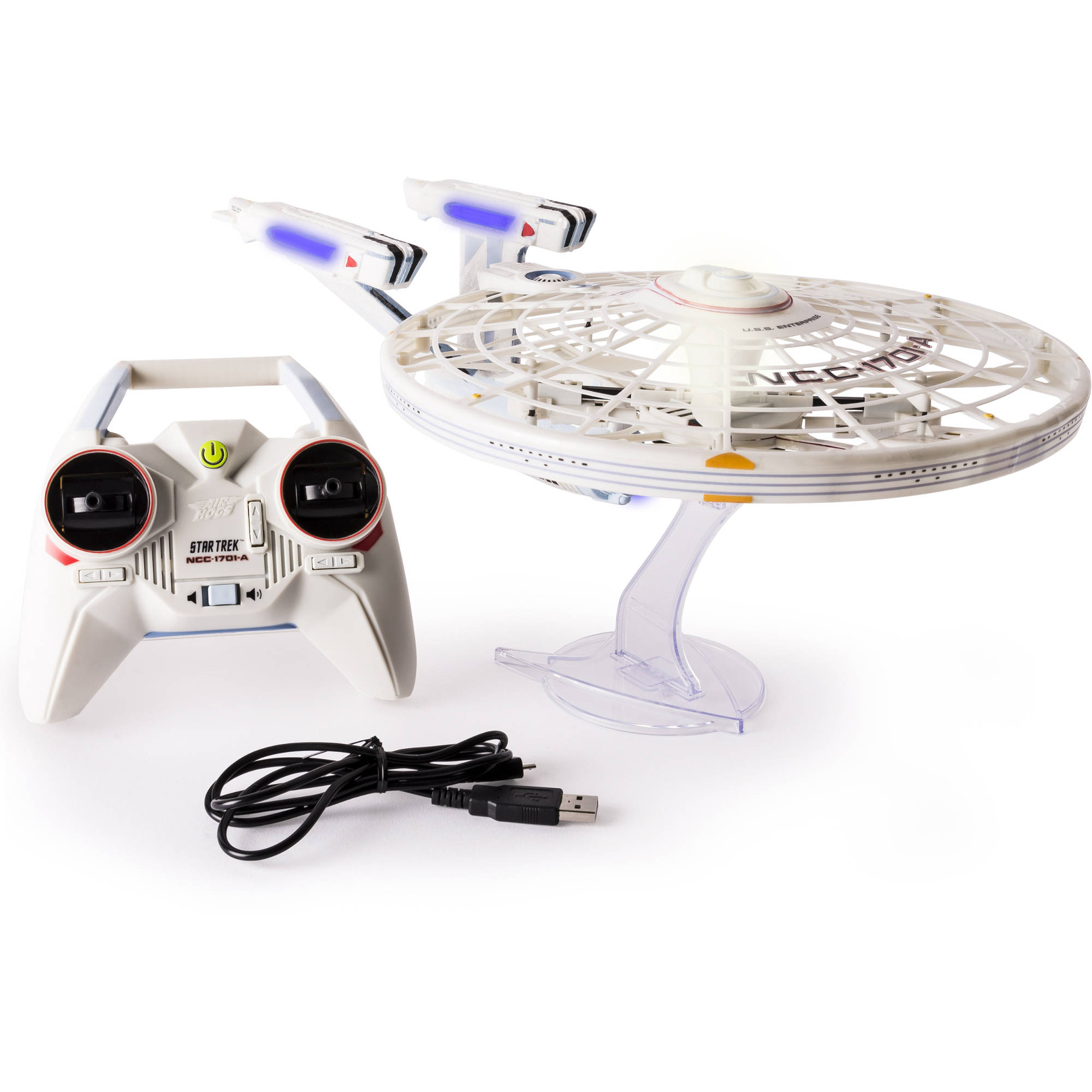 Air Hogs, Star Trek U.S.S Enterprise NCC-1701-A, Remote Control Drone with Lights and... by Spin Master Ltd