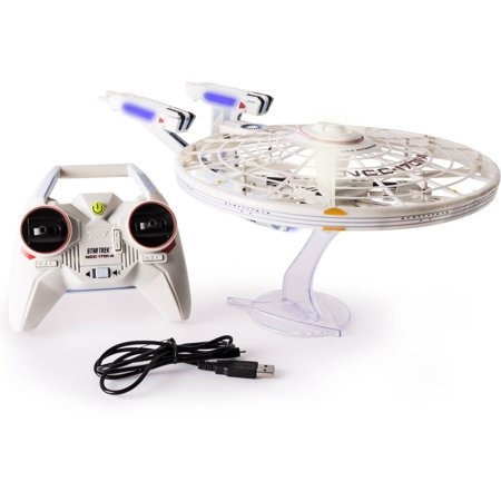 Air Hogs  Star Trek U S S Enterprise Ncc 1701 A  Remote Control Drone With Lights And Sounds  2 4 Ghz  4 Channel