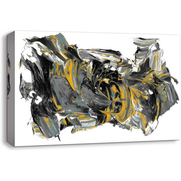 Wall26 Canvas Wall Art Abstract Oil Texture Pictures Home Wall Decorations For Bedroom Living Room Paintings Canvas Prints Framed Walmart Com Walmart Com