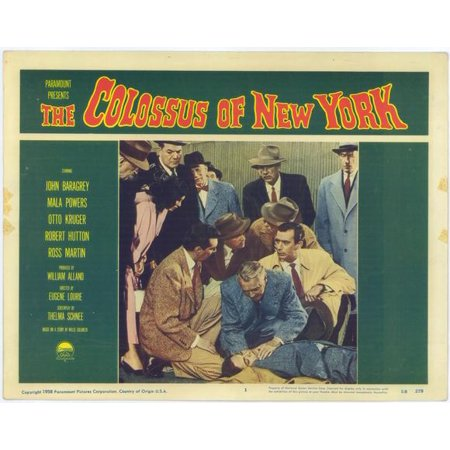 The Colossus of New York POSTER Movie Mini Promo