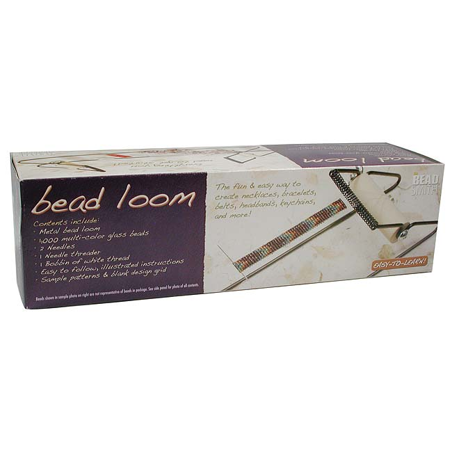 BeadSmith Bead Loom Kit For Beginners - Weave Necklaces Bracelets And More!