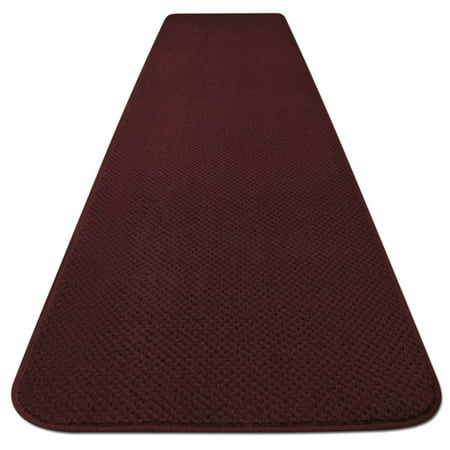 Skid-resistant Carpet Runner - Burgundy Red - 6 Ft. X 27 In. - Many Other Sizes to Choose From](Red Carpet Okc)